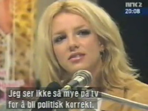 2000 -britney spears interview in norway {superted}