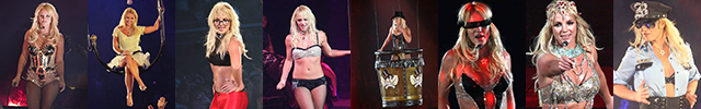 The Circus Starring Tour Britney Spears 2009