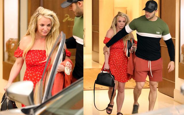 21 апреля Бритни Спирс с Сэмом Асгари покидают Беверли-Хиллз