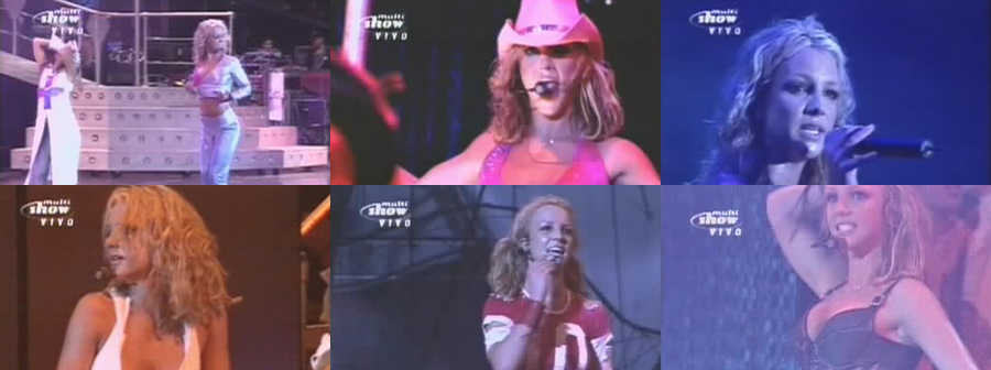 Britney Spears Oops I Did It Again Tour (Rio de Janeiro, Brazil 2001)