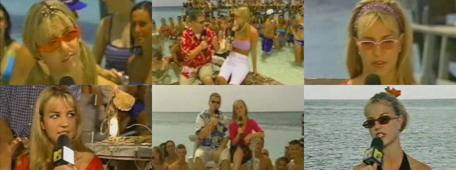 MTV TRL Summer Week 1999 (Britney Spears on the Bahamas)