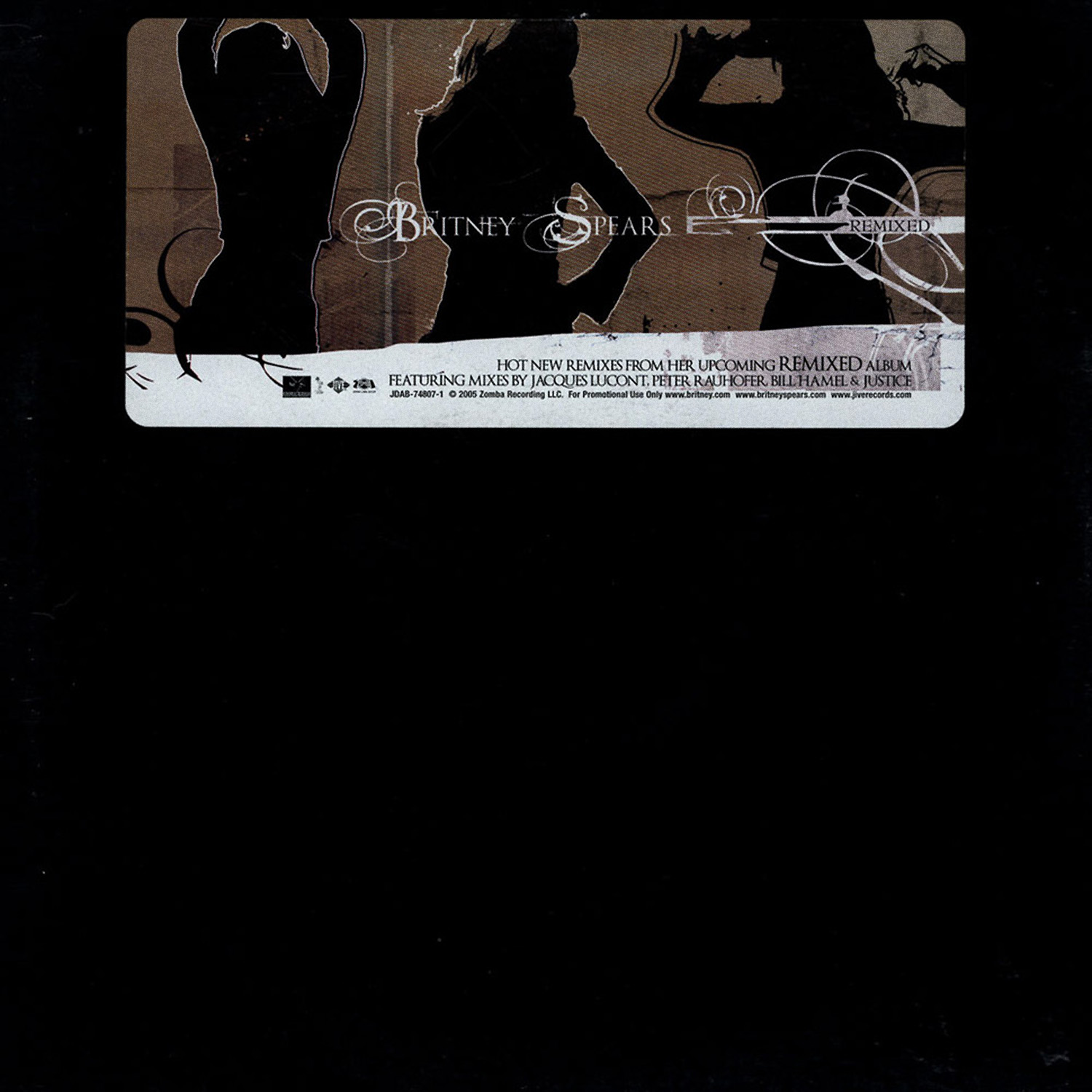 Britney Spears – Key Cuts From Remixed (Promo Vinyl 2005)