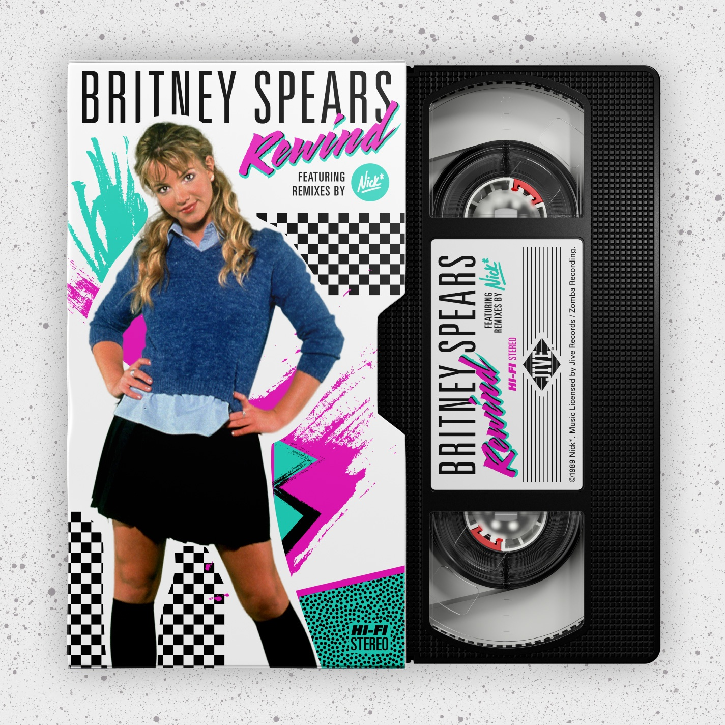 Britney Spears: Rewind – Full EP (80's Remixes)