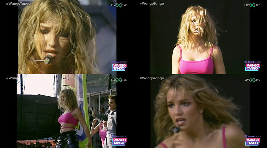 Britney Spears - ...Baby One More Time [Clip Wango Tango 1999] iHeartRadio Broadcast 2021