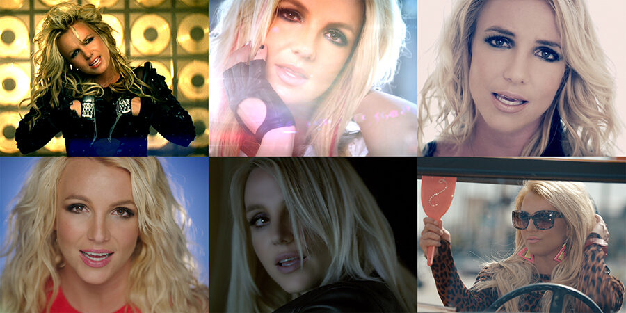 Britney Spears - Music Videos (HD Captures)