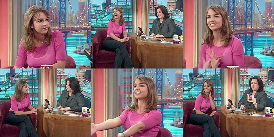 Britney Spears Interiew - Rosie O'Donnell Show, 1999