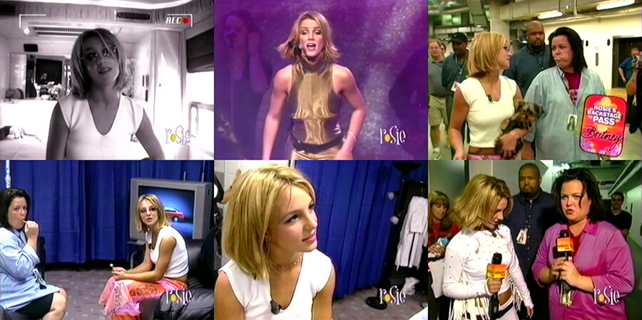 Britney Spears – Rosie Backstage Pass (Crazy 2K Tour Special 2000) VHS [FULL 720P]