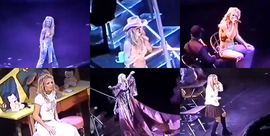 Oops!...I Did It Again Tour (November 13, 2000 - Cologne, Germany) 480P