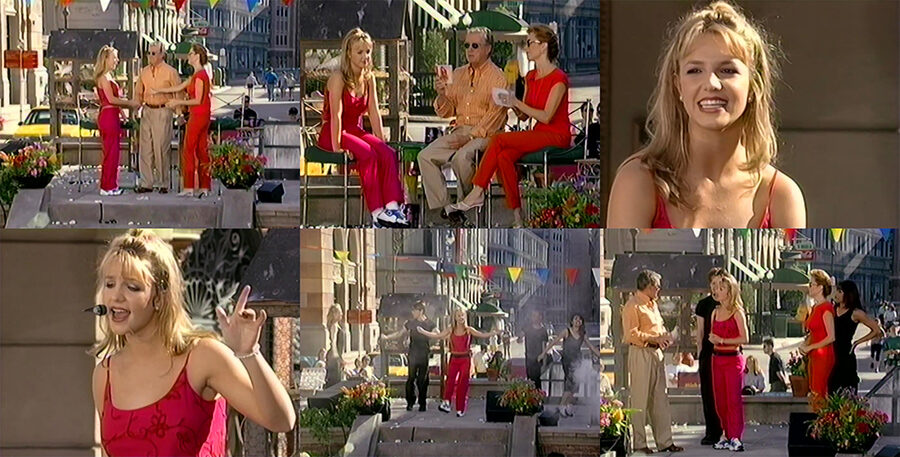Britney Spears - Baby One More Time - LIVE (1999) Regis & Kathie