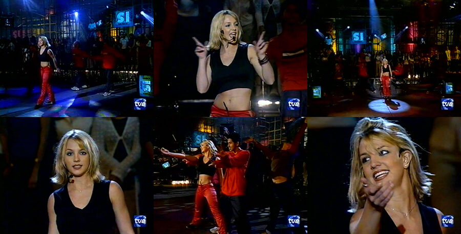 Britney Spears - (You Drive Me) Crazy [Musica Si Spain TV 1999]