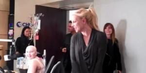 Britney Spears Visits Seacrest Studios