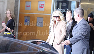 Meeting Britney Spears London October 2013