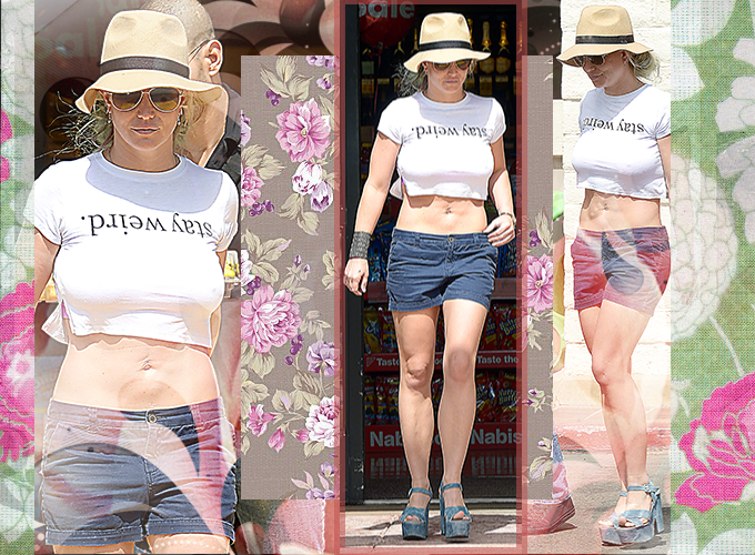 September 14 - Britney Spears Grocery Shopping At Vons In Westlake Village