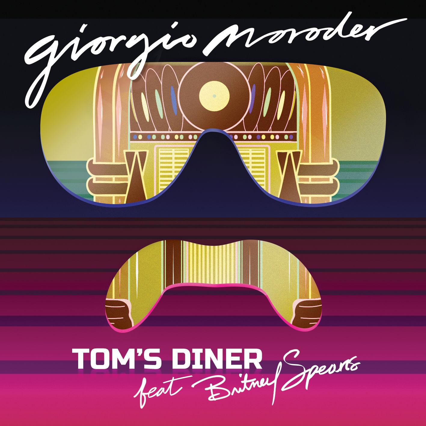 Giorgio Moroder Feat. Britney Spears - Tom's Diner (Single) (2015)